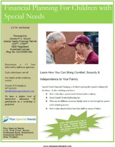 Special Needs Planning Worskshop